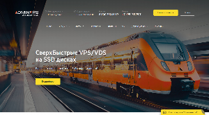 Главная страница adminvps.ru