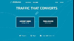 Главная страница clickaine.com