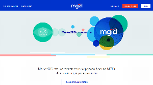 Главная страница mgid.com