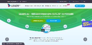 Главная страница Leads.su