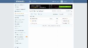 Файловый менеджер timeweb