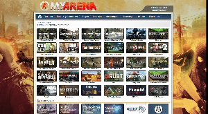 Заказ игрового сервера myarena.ru