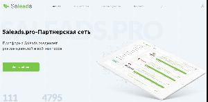 Главная страница saleads.pro
